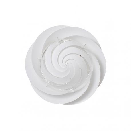 Le Klint Swirl Loft/væglampe Medium - Hvid - Ø60