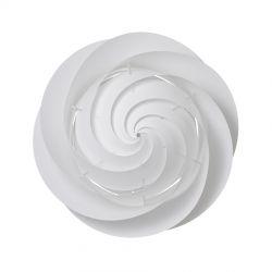 Le Klint Swirl Loft/væglampe Large - Hvid - Ø75