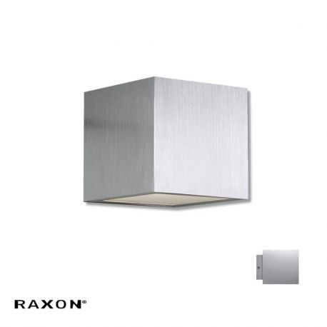 Cubi 10 W1 væglampe - Aluminium - Raxon