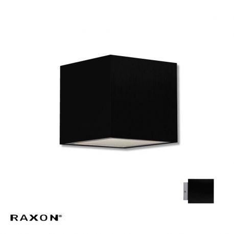Cubi 10 W1 væglampe - Sort - Raxon
