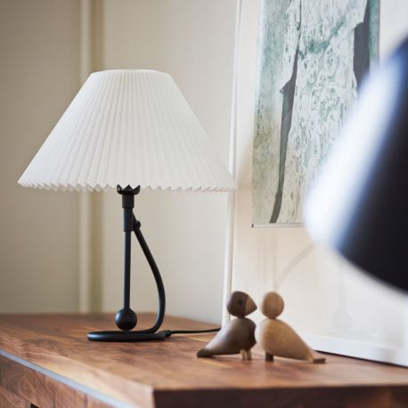 Le Klint 306 bord/væglampe - Mat sort