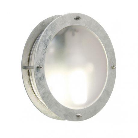 Malte væglampe - Galvaniseret stål