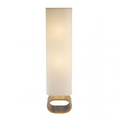 Neksö gulvlampe - Eg/beige - Markslöjd
