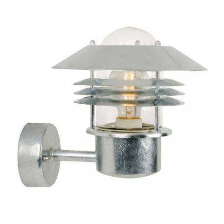 Nordlux Vejers væglampe - Galvaniseret