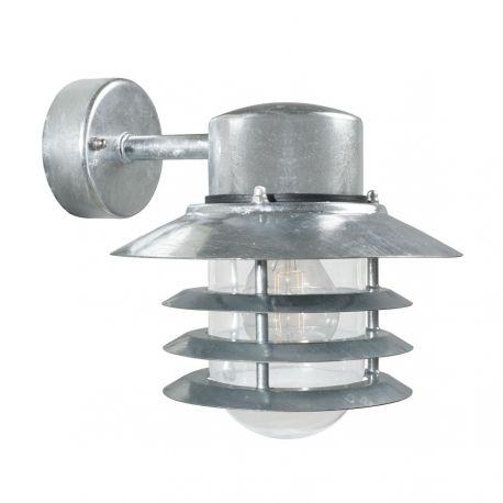 Nordlux Vejers Down væglampe - Galvaniseret