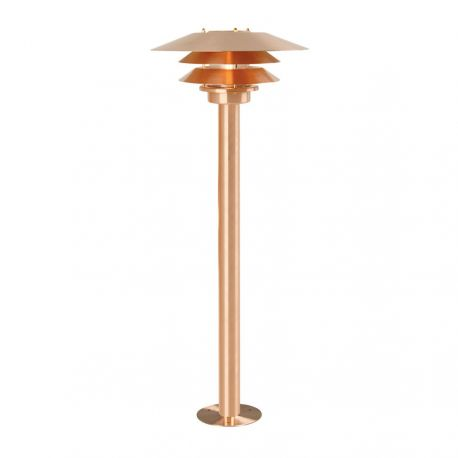 Nordlux Venø havelampe - Kobber