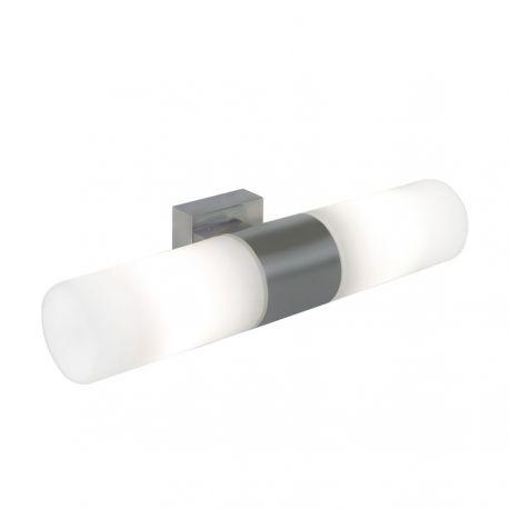 Nordlux Tangens Dobbelt væglampe - Børstet stål
