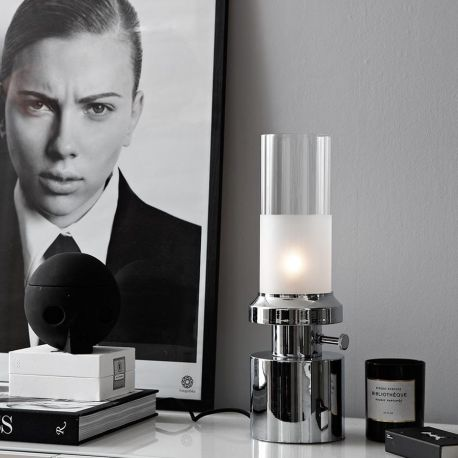 Markslöjd Pir bordlampe - Krom