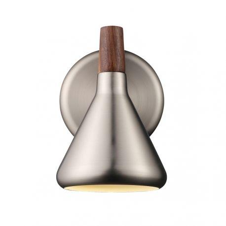 Nordlux Float væglampe - Børstet stål