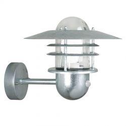 Nordlux Agger væglampe m/sensor - Galvaniseret Stål