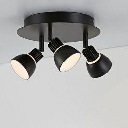 Lampekonsulenten Radiate loftrondel - Sort