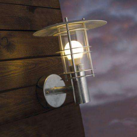 Nordlux Fredensborg udendørslampe - Galvaniseret