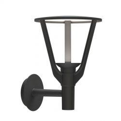 Kronenbourg væglampe - Sort aluminium