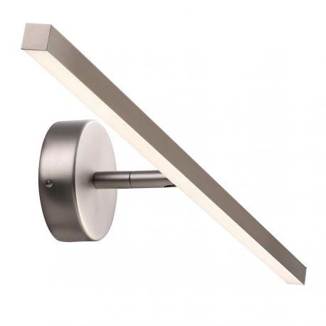 Nordlux IP S13 60 LED væglampe - Børstet stål