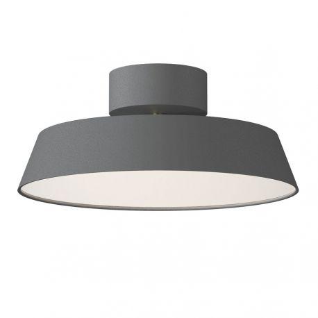 Alba LED plafond - Grå - Ø30