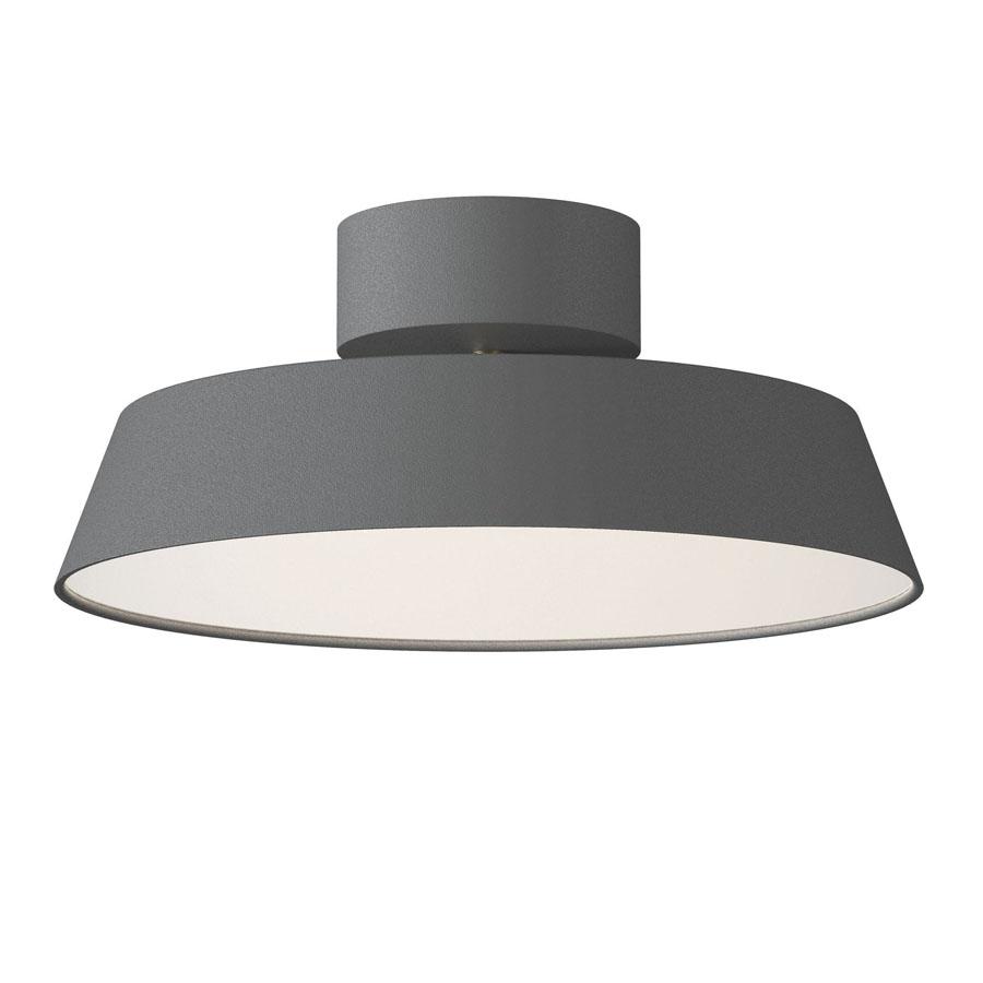 Nordlux Alba LED plafond - Grå - Plafond lamper - Lys-Lamper.dk