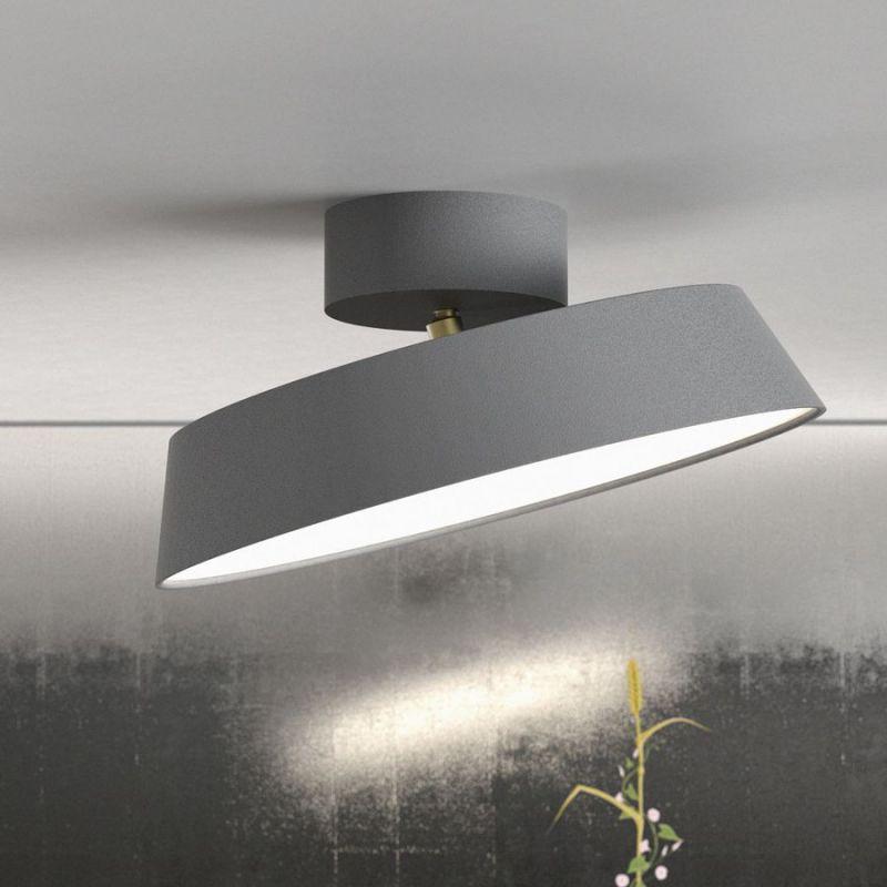 nordlux alba led plafond gr plafond lamper lys. Black Bedroom Furniture Sets. Home Design Ideas