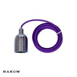 RX-PRO P1-E27 240V - Lilla/chrom