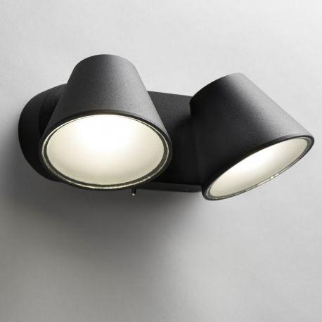 Light-Point Cup 2 væglampe - Sort