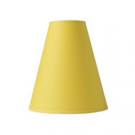 Trafikskærm - Bomuld gul - Ø20