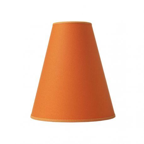 Trafikskærm - Bomuld orange - Ø20