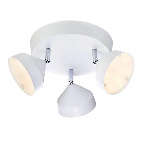 Tratt LED loftlampe - Hvid