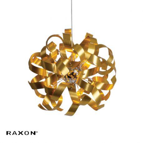 Twister 44 P1 pendel - Satin guld - Ø44 - Raxon