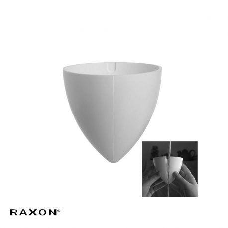 Split loftbaldakin - Hvid - Raxon