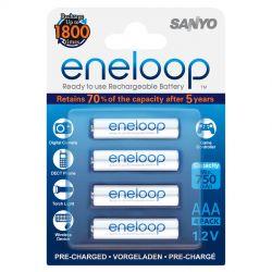 Sanyo Eneloop AAA (R03), 4 stk.