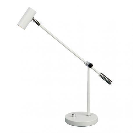 Cato LED bordlampe - Mat hvid - Belid