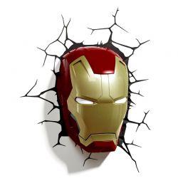 Marvel Ironman 3D væglampe