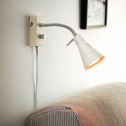 Cantate Trendy væglampe - Hvid - Lampekonsulenten