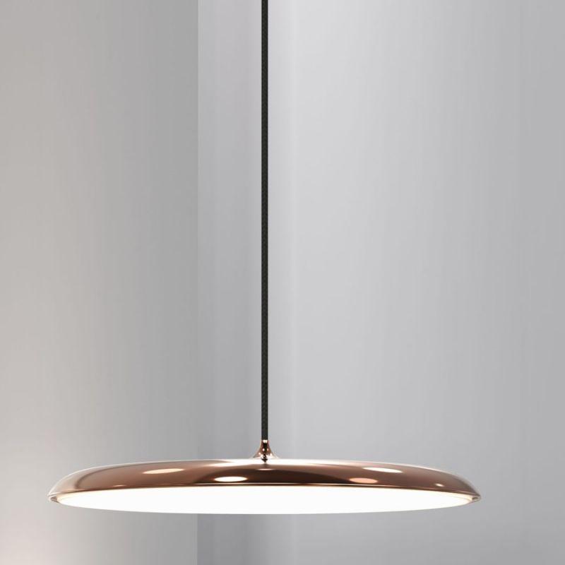 Nordlux artist 40 pendel kobber find design belysning for Lampen nordlux