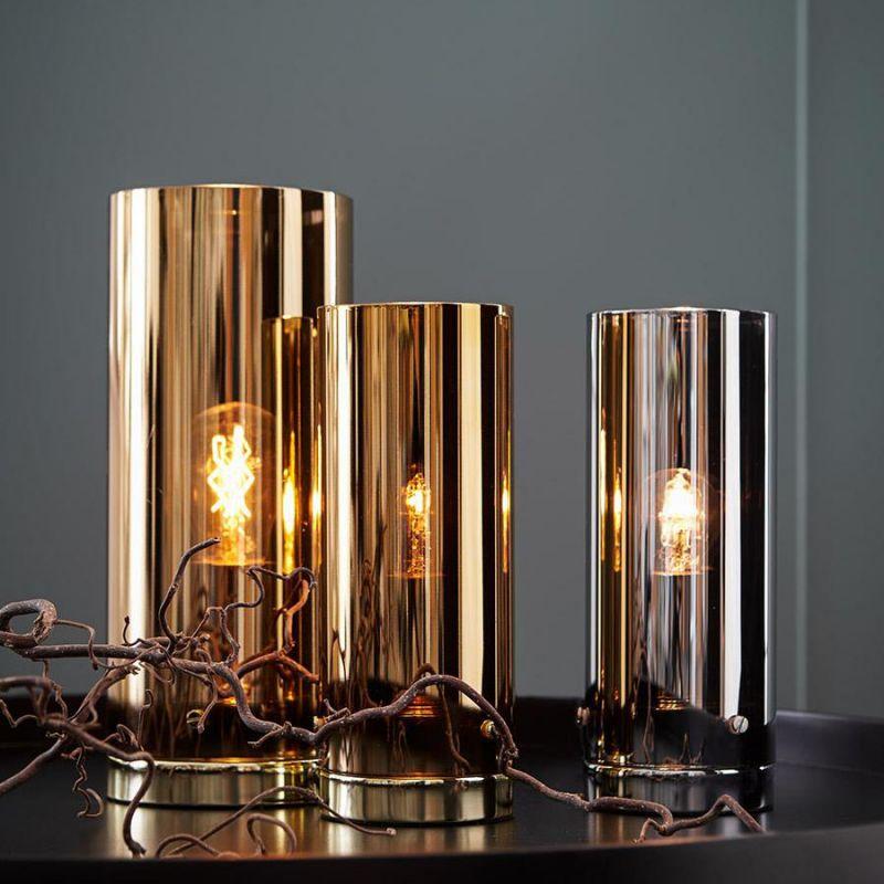 Storm 9 bordlampe Kobber Lamper og belysning fra Markslöjd