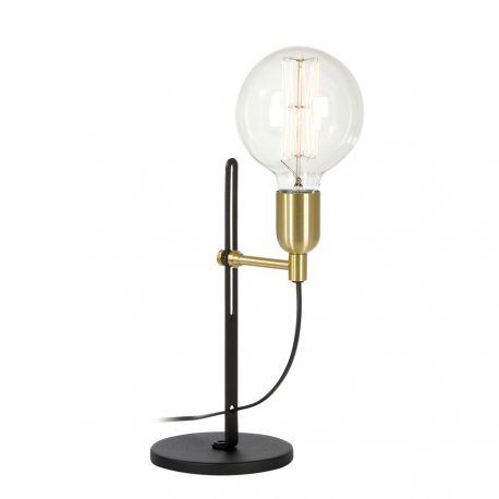 Regal bordlampe - Sort/messing - Belid