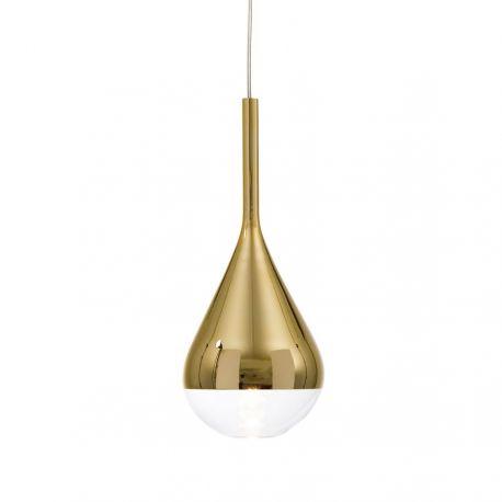 Pianto glaspendel - Guld - Belid