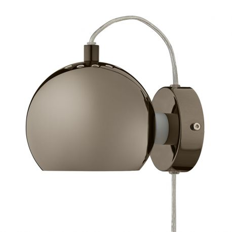 Frandsen Ball væglampe - Sortforkromet