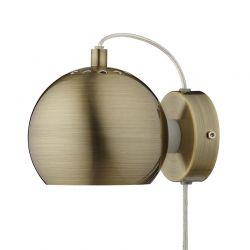 Frandsen Ball væglampe - Antik messing