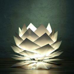 PineApple bordlampe - Hvid - Dyberg Larsen