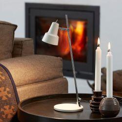 Conic bordlampe - Hvid