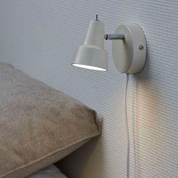 Conic væglampe - Hvid