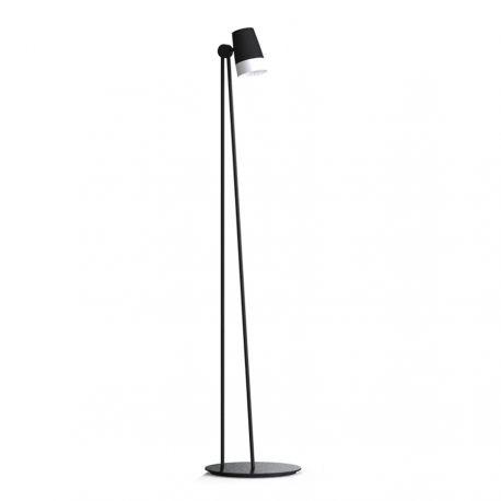 Sonate gulvlampe - Sort - Lampekonsulenten