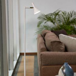 Piccoli gulvlampe - Blank hvid - Lampekonsulenten