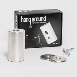 Hang around - Flytbart lampeophæng - Sølv