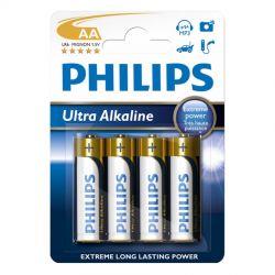 Philips Ultra Alkaline AA - 4 stk.