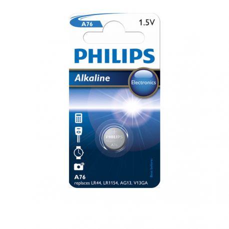 Philips Knapbatteri A76 Alkaline 1,5V