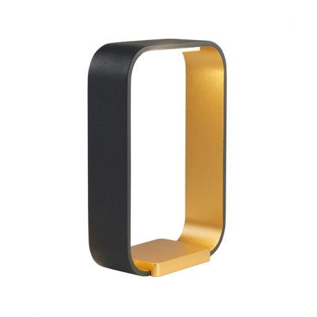 Code LED bordlampe - Sort/guld - Light-Point