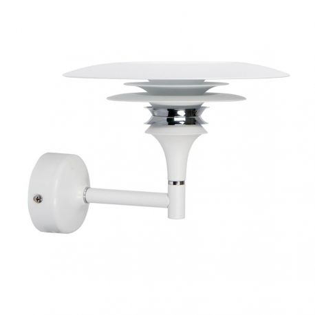 Diablo LED væglampe - Mat hvid - Belid
