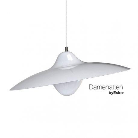 Damehatten - Blank hvid - Dyberg Larsen
