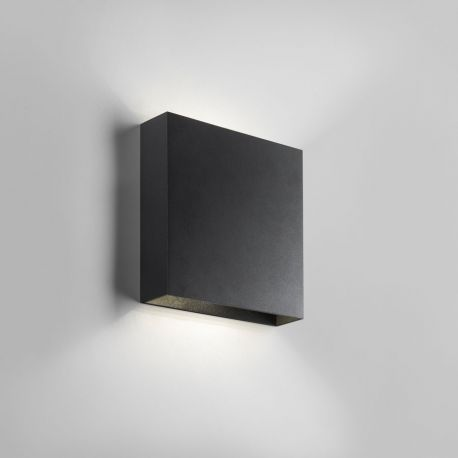Compact W2 væglampe - Sort - Light-Point
